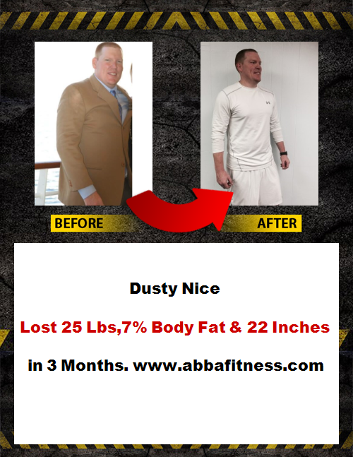 dusty before and after