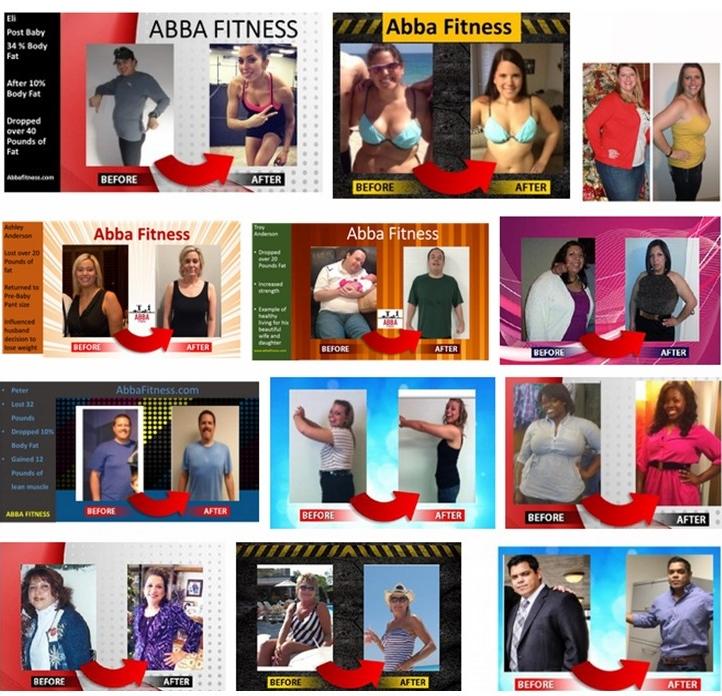 group before and afters