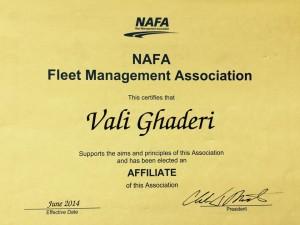 nafa certificate