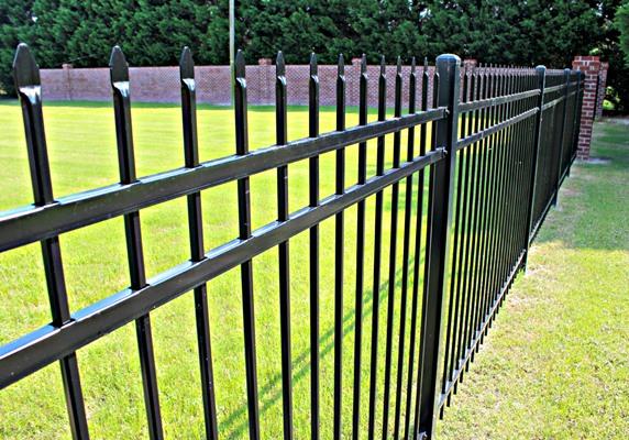 Aluminum Fences Chicago Metal Fencing Illinois Iron