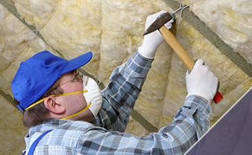 Attic Insulation Installation