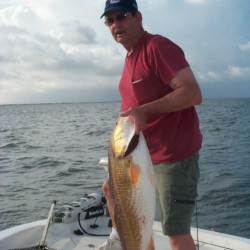 This Guy Was Happy With This Bull Red