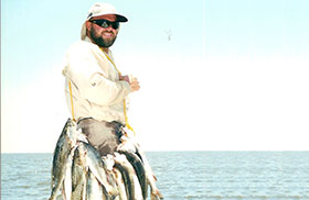 Let Capt. Clay Show You Where The Speckled Trout Are