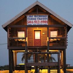 One Of The Bayou Log Cabins