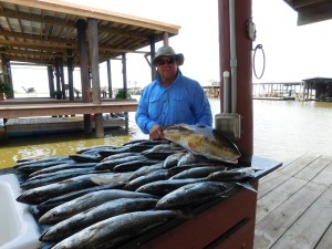 What A Great Day For A Speckled Trout Charter