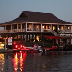 Main Office At Bayou Log Cabins Fishing Lodge