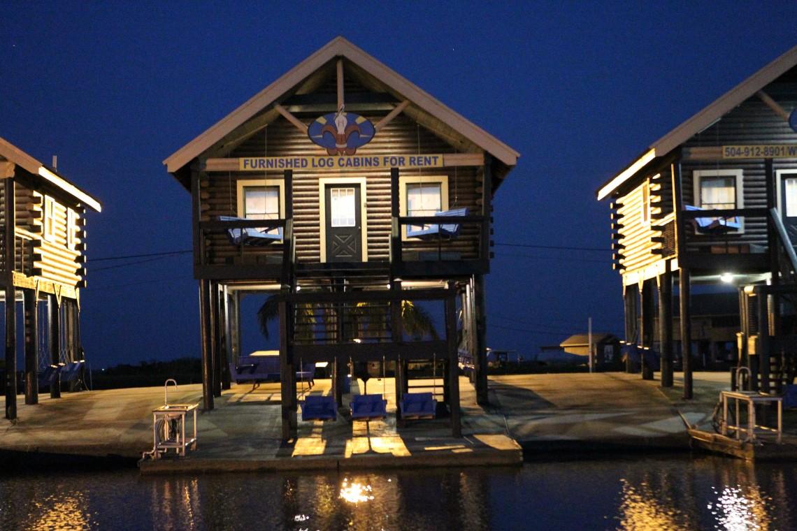 Log Cabin Rentals Port Sulphur Fishing Cabins La