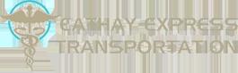 Non Emergency Medical Transportation-Main Logo-Cathay Express Transportation