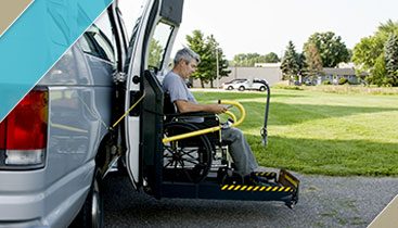 Wheelchair Transportation-WC Enabled Van for Disability-Cathay Express Transporation