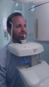 Sterling Dental Center Patient Receiving 3-D Diagnostic Imaging