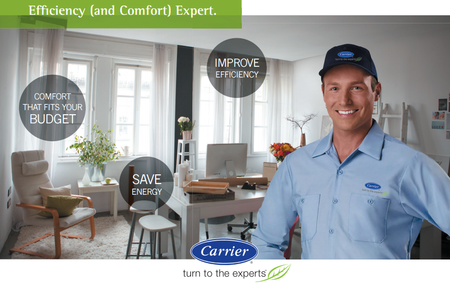 Carrier efficiency and comfort expert