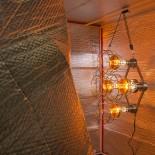 Sauna Fix inside Sauna Tent