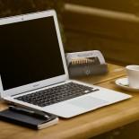 Breathe Safe on a desk