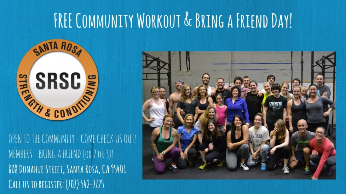 Optimized-General FREE Community Workout Day! NoDate