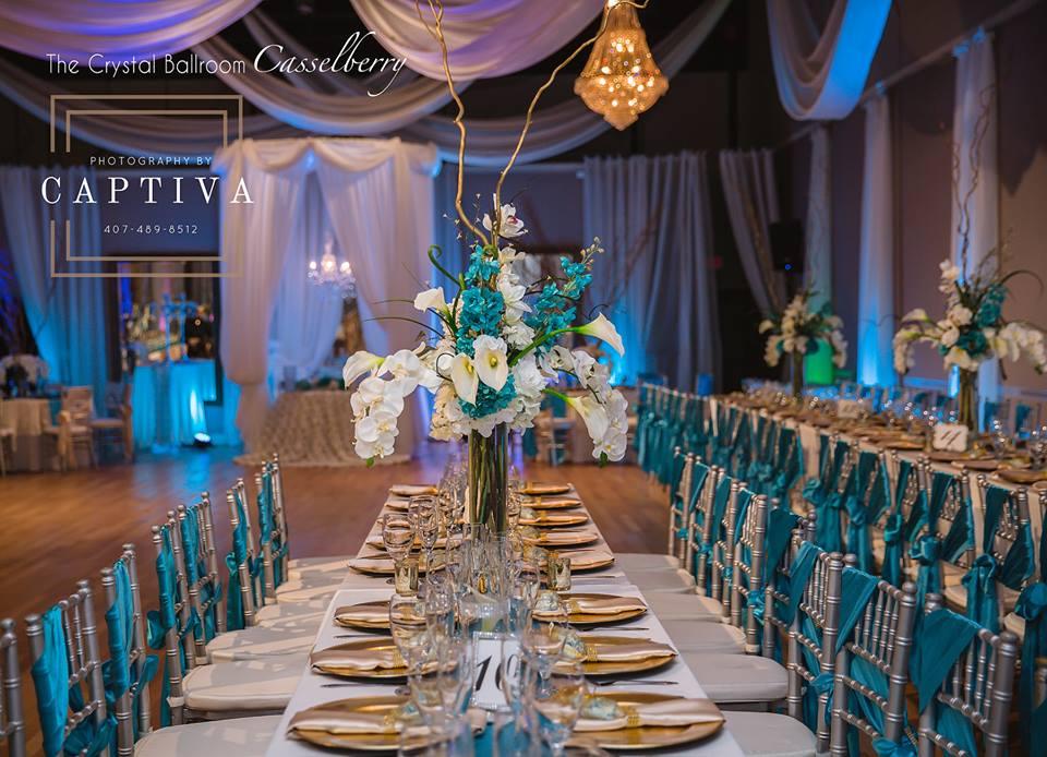 The Crystal Ballroom: Orlando Wedding Venues   Banquet ...