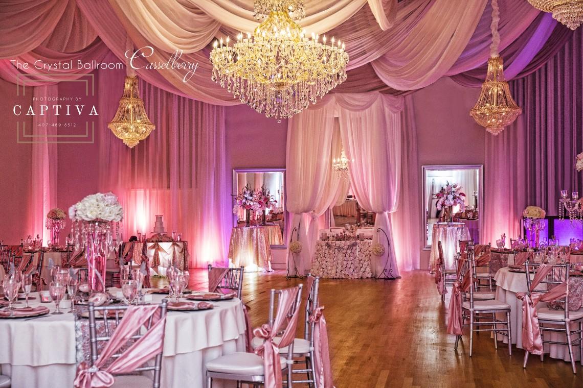 The Crystal Ballroom Orlando Wedding Venues