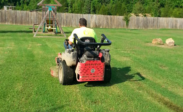 Let us help keep your yard looking great with our landscaping services!