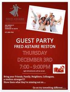 Guest Party Dec