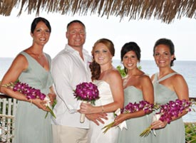 See how easy a beach wedding can be with our travel agents today!
