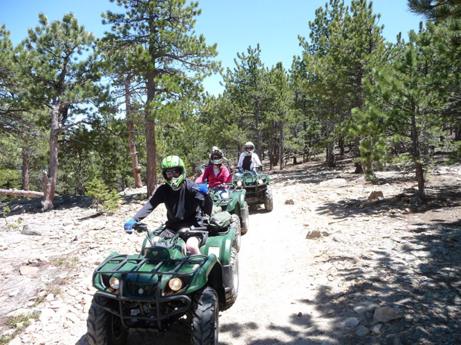 Summer ATV Riding Colorado