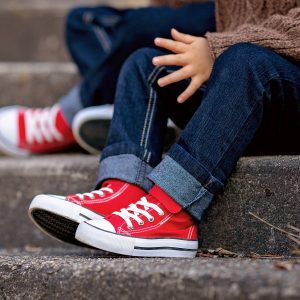 child red shoes