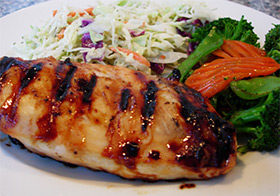 Sweet and Tangy Grilled Chicken