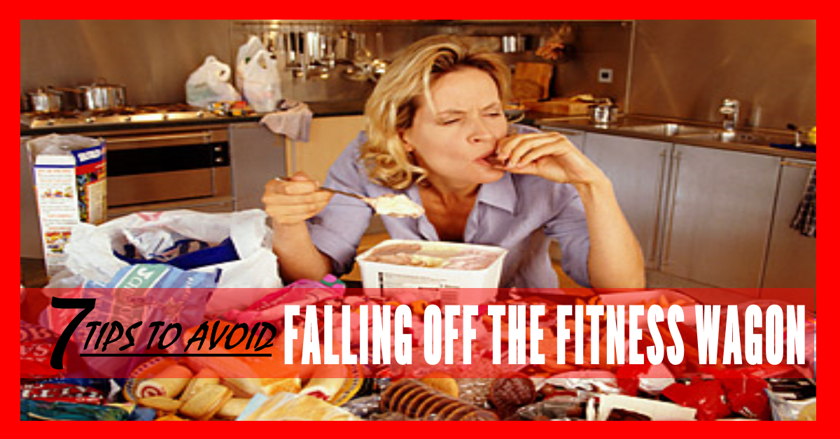 FALLING OFF THE FITNESS WAGON