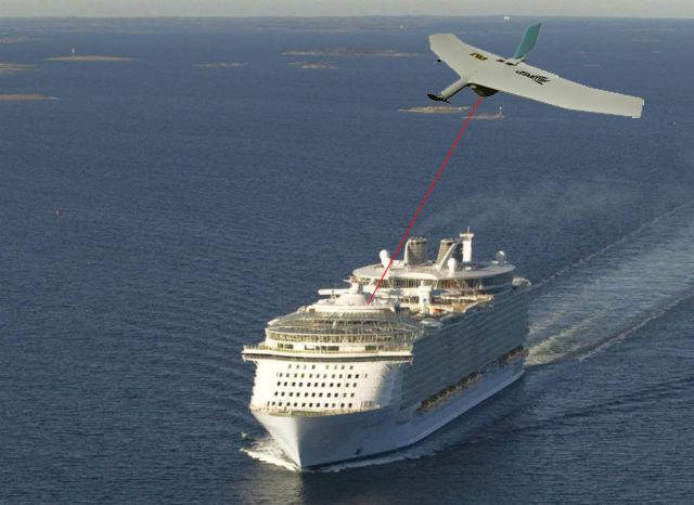 Cruise Ship Drone 363