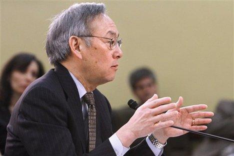 Energy Secretary Steven Chu 2012