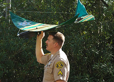 surveillance drones over LA 761