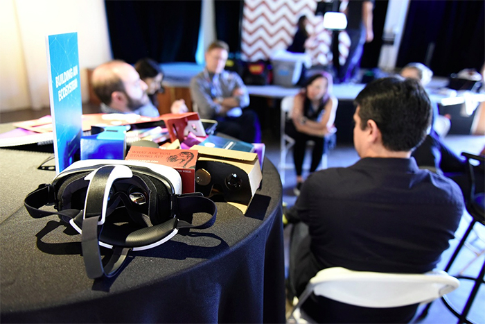 Life in a VR newsroom