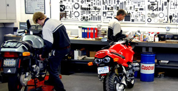 Turn to us for professional motorcycle repair.