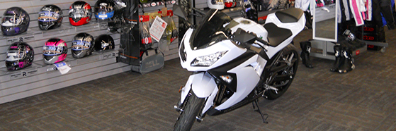 Your source for motorcycle parts and accessories.
