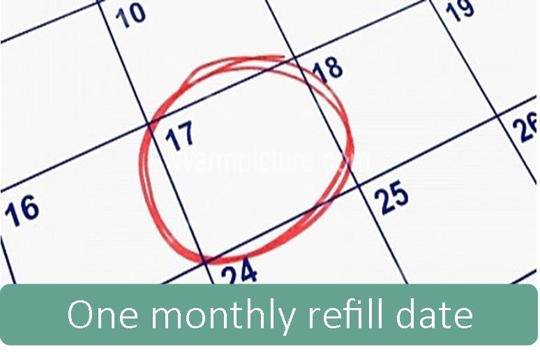 one-monthly-refill