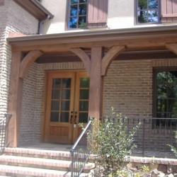 A variety of materials make this Chicago home exterior remodeling project by Home Services Direct both unique and beautiful.