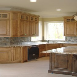 Natural light brightens up this Chicago kitchen remodel by Home Services Direct.