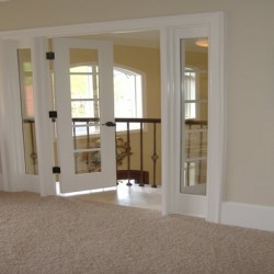 French doors will add charm to your Chicago home remodeling project by Home Services Direct.