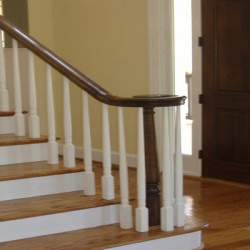 Charming staircases complete any Chicago home remodeling project by Home Services Direct.