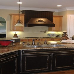 Thoughtful details bring charm to this kitchen remodeling project by Home Services Direct in Chicago.