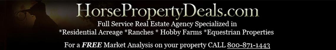 Horse Property Deals Header