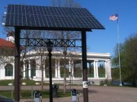 Solar Powered Charging Station