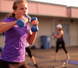 Get fit with our boot camp!