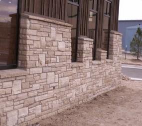 Ledgestone Foundation near Longmont Colorado.