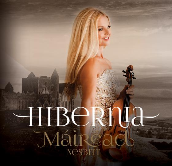 Mairead Nesbitt's new album of Celtic violin music, Hibernia, is available now.