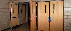 Commercial Wood Door Installation
