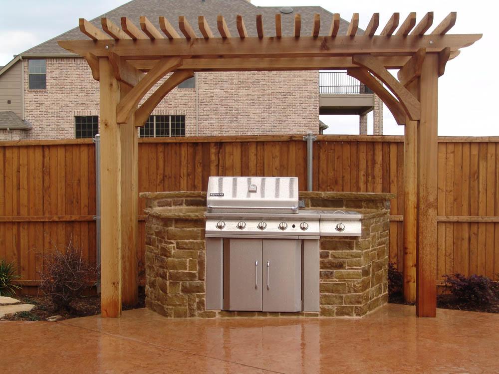 Outdoor kitchen designs lewisville outdoor kitchens for Dallas outdoor kitchen designs