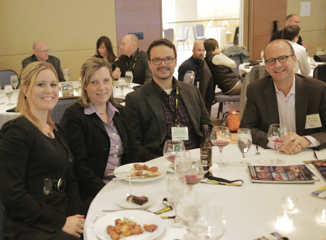 The ILCA Award-winning team. (from left to right: Tonya Sherwood, Dawn Rummel, Paul Sheets, Eric Moore)