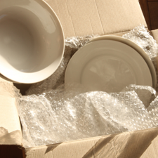 Ocean Moving & Storage provides packing services.