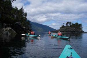 Exploring Johnstone Strait by Kayak