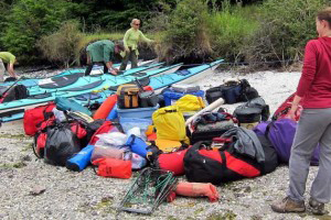 Kayaking and personal gear